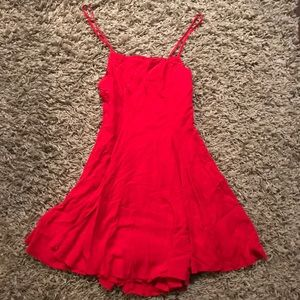 Urban Outfitters Mini Red Dress